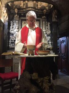 Celebrating the Eucharist at La Cova