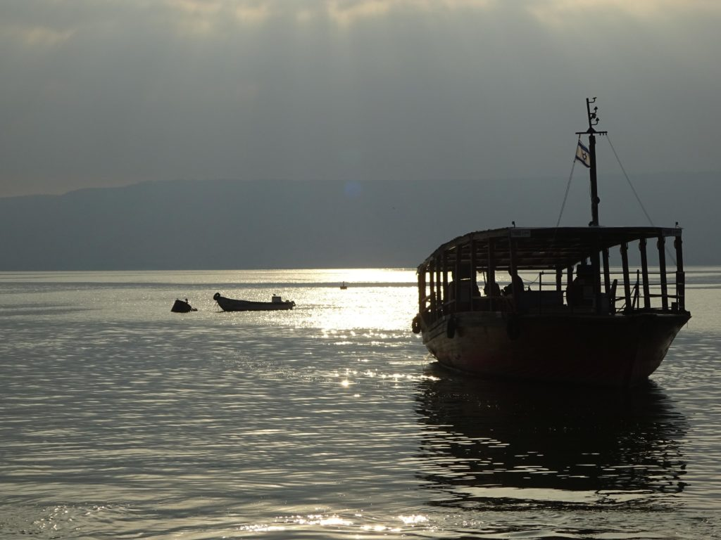 Mornings on the Sea of Galilee