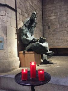 Side chapel where Ignatius begged in the gothic church of Santa Maria del Mar in Barcelona