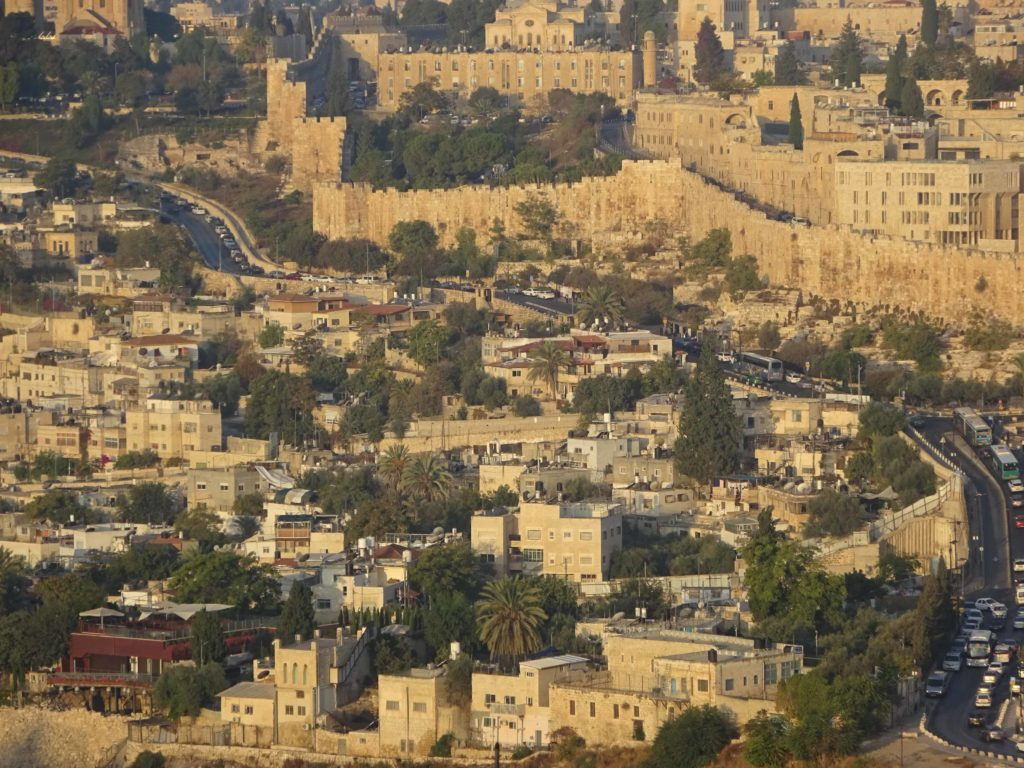 View of the Old City - Jerusalem